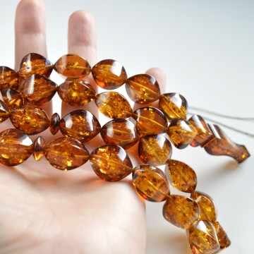 Baltic Amber Tespih Red...