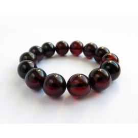 Red Cherry Baltic Amber Bracelet 29.85 grams