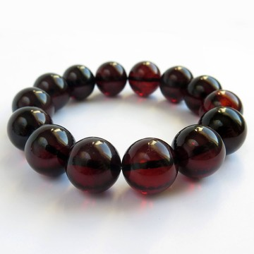 Red Cherry Baltic Amber Bracelet 29.85 grams