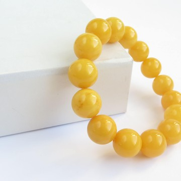 Butterscotch Baltic Amber Bracelet 22.51 grams
