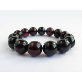 Red Cherry Baltic Amber Bracelet 21.82 grams