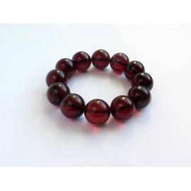 Red Cherry Baltic Amber Bracelet 38.63 grams