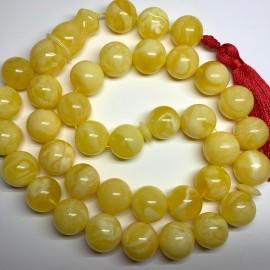 Natural White Amber 33...