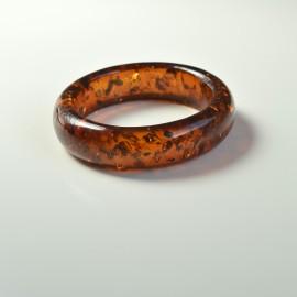 Amber Bangle Bracelet One...