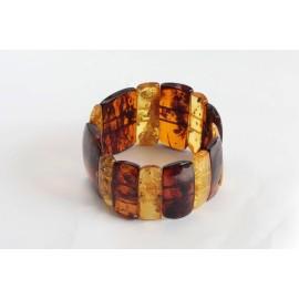 Cognac / Yellow Baltic Amber Bracelet 41.50 grams