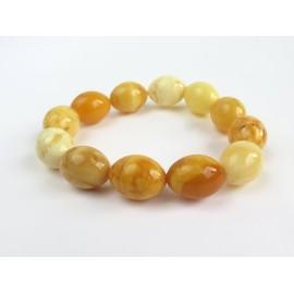 Butterscotch Baltic Amber Bracelet 23.09 grams