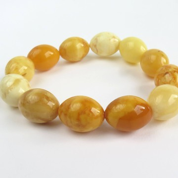 Butterscotch Baltic Amber Bracelet 23.09 grams
