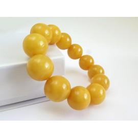 Butterscotch Baltic Amber Bracelet 43.53 grams