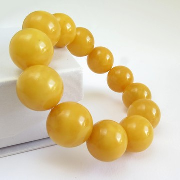 Butterscotch Baltic Amber Bracelet 43.53 grams