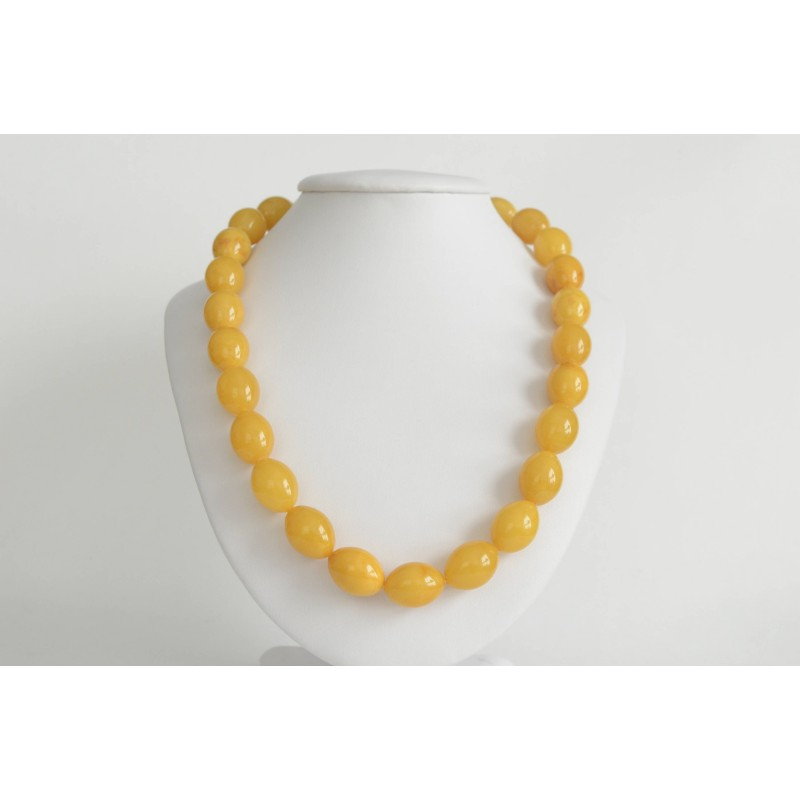 Buttescotch Baltic Amber Necklace 50.80 grams