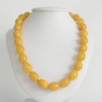 Butterscotch Baltic Amber Necklace 50.80 grams
