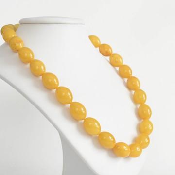 Buttescotch Baltic Amber Necklace 50.80 grams