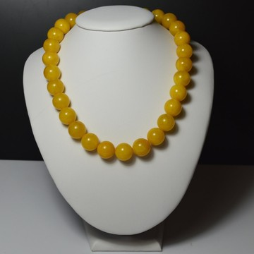 Butterscotch Baltic Amber Necklace 66.75 grams