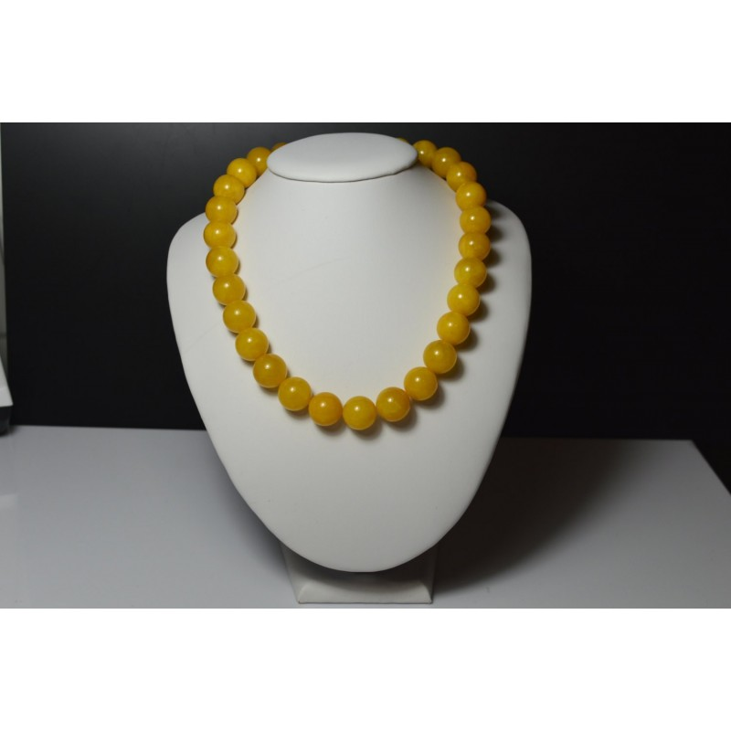 Buttescotch Baltic Amber Necklace 66.75 grams