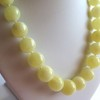 Milky White Baltic Amber Necklace 56.73 grams