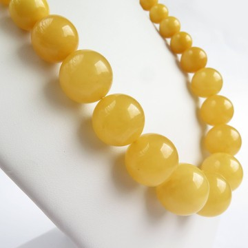 Butterscotch Baltic Amber Necklace 65.01 grams