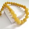 Buttescotch Baltic Amber Necklace 65.01 grams