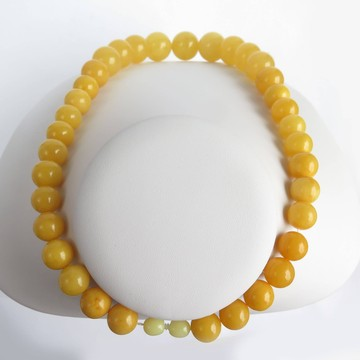 Buttescotch Baltic Amber Necklace 65.01 grams