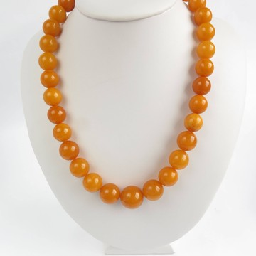 Antique Baltic Amber Necklace 55.08 grams