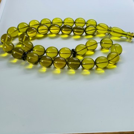 Green Amber Beads Islamic...