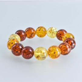 Natural Amber Bracelet,...