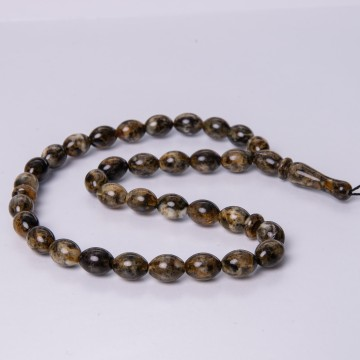 Rosary of Baltic Amber 11x8...