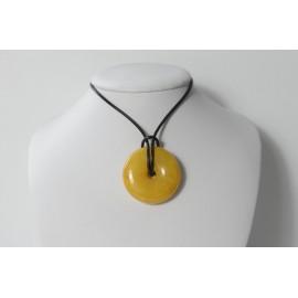 Butterscotch Baltic Amber Pendant 12.65 grams