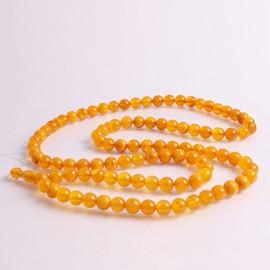 Orange Baltic Amber Tespih...