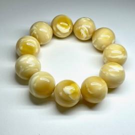White Tiger Amber Bracelet...