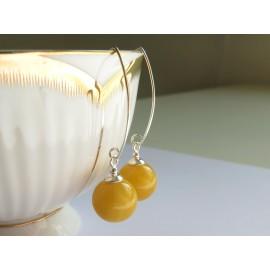 Butterscotch Baltic Amber Earrings 3.54 g
