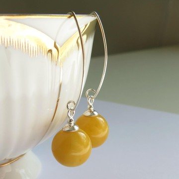 Butterscotch Baltic Amber Earrings 3.54 g