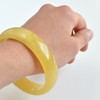 Amber Bangle Bracelet, 28 grams One Piece of Amber Pure Baltic Polished Amber