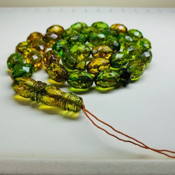 Green Old Amber Islamic...