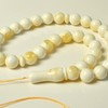 Natural White Amber Misbaha...