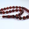 Cherry Amber Misbaha Rosary...
