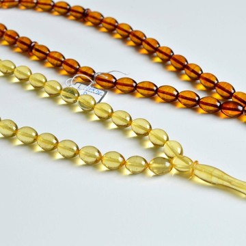 Set of Two Amber Misbaha...