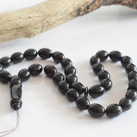 Red Cherry Baltic Amber Prayer Beads 49.20 grams
