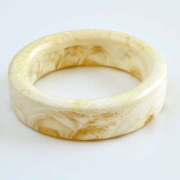 Natural White Amber Bangle Bracelet Carved from one stone One Piece of Pure Natural Baltic Amber, Handmade Cuff Bracelet