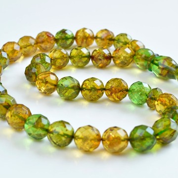 Faceted Handmade Baltic...