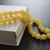Light Butterscotch Baltic Amber Prayer Beads 27.45 grams