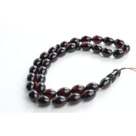 Red Cherry Baltic Amber Prayer Beads 20.60 grams