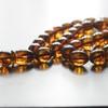 Cognac Baltic Amber Prayer Beads 21.15 grams