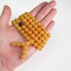 Dark Honey / Red Cherry Baltic Amber Buddhist Prayer Beads 39.35 grams