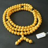 Butterscotch / Red Cherry Baltic Amber Buddhist Prayer Beads 41.65 grams