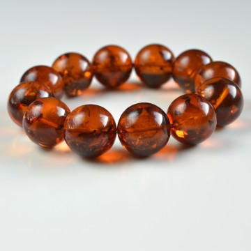 20 mm Baltic Amber bracelet...