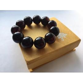 Red Cherry Baltic Amber Bracelet 52.55 grams